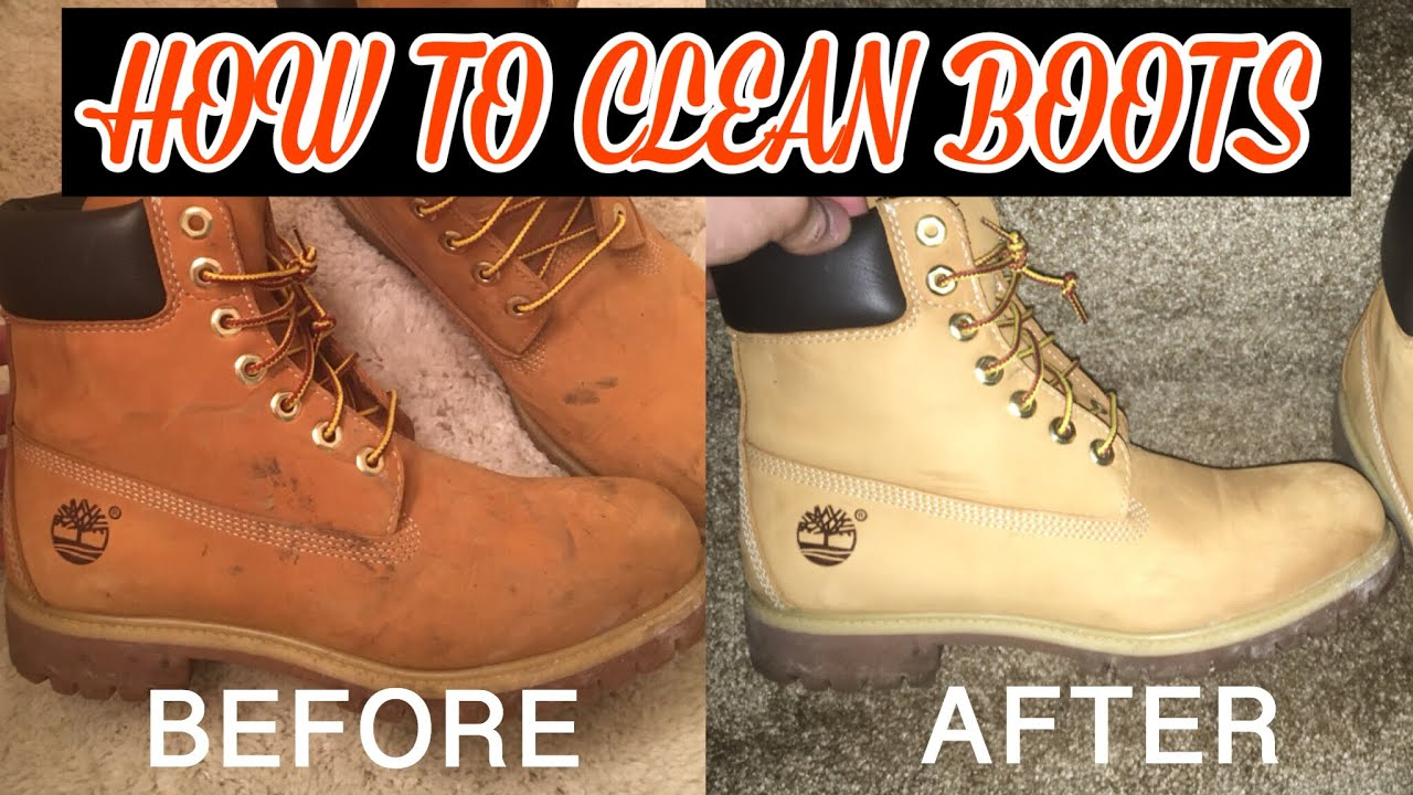 74e529ff58f HOW TO CLEAN TIMBERLAND BOOTS/UGGS!