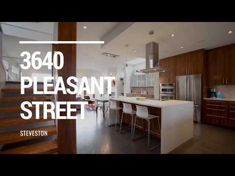 3640 Pleasant Street, Steveston Village, Richmond : West Coast Modern Home