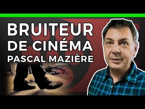BRUITEUR DE CINEMA - Pascal Mazière - LES METIERS DU CINEMA - BRUITAGE