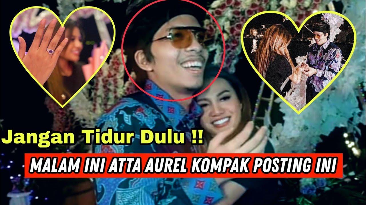 JANGAN TIDUR DULU !! AUREL & BANG ATTA KOMPAK UNGGAH MOMEN ROMANTIS SAMBIL BALAS2AN KOMENTAR