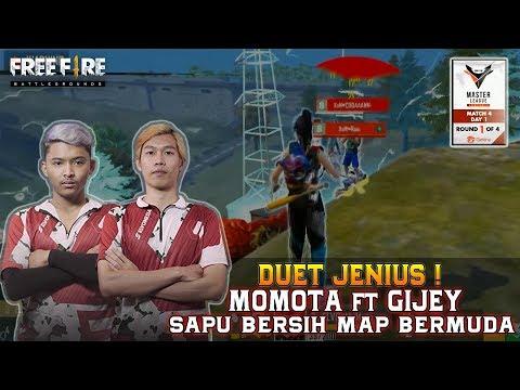 DUET GENIUS SAPU BERSIH MAP BERMUDA ! | MATCH 1 | FREE FIRE MASTER LEAGUE