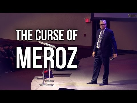 """The Curse of Meroz"" - Wayne Huntley"