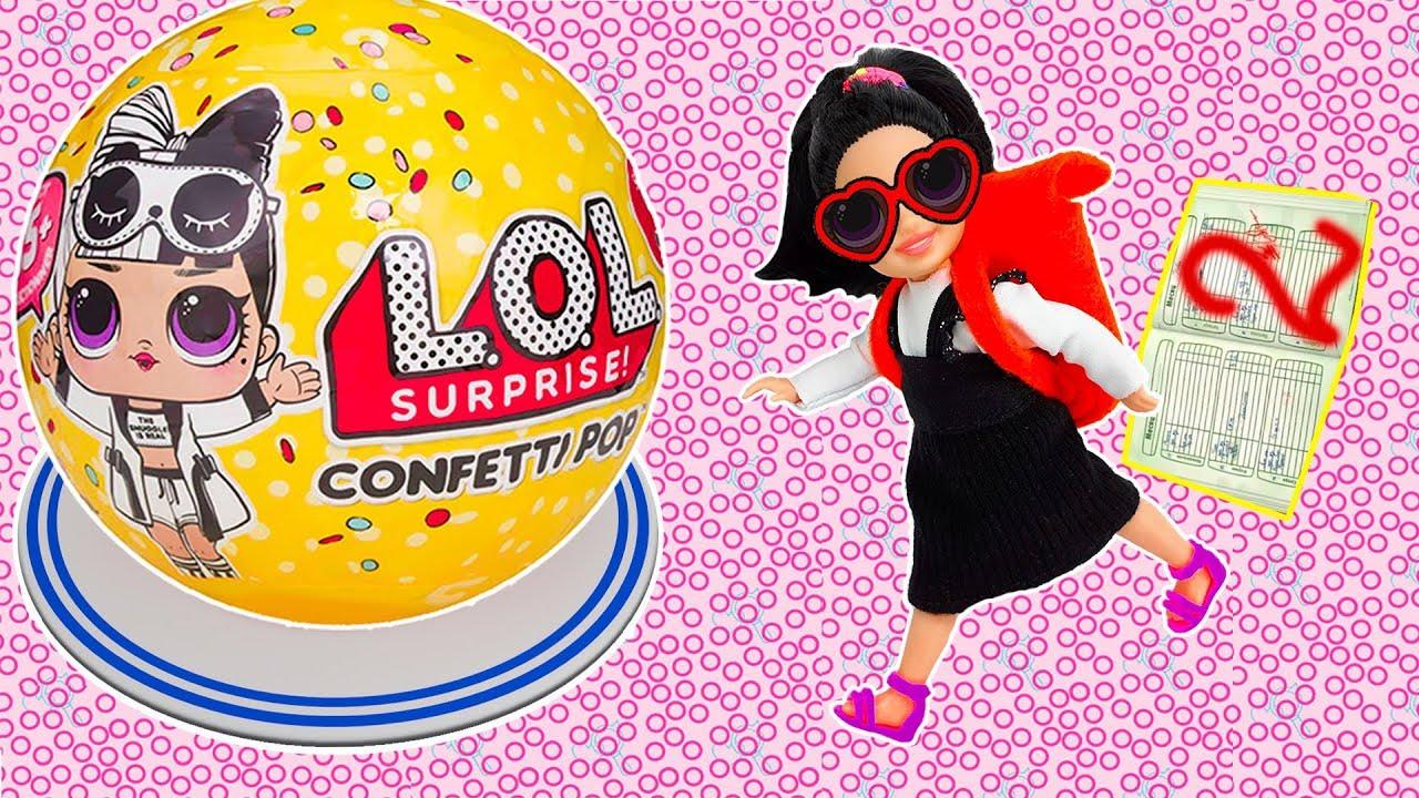 LOL Surprise! Кукла ЛОЛ для БАРБИ и Мультик Барби - Играем ...