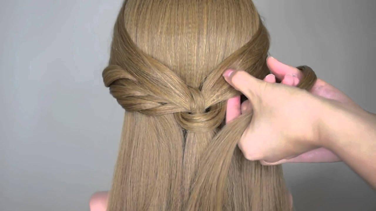 b367716117a18 تسريحة شعر سهلة....بسيطة....رائعة  2015 - YouTube