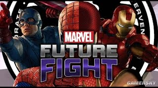 《MARVEL Future Fight》美國隊長 VS Iron Man