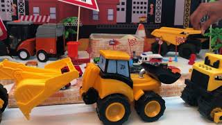 Car Loader Trucks -kids-cars-toys-video-fire truck- planes-toys-learn