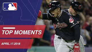 Top 10 Moments around MLB: April 17, 2018