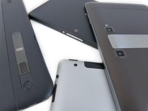 T-Mobile G-Slate Vs BlackBerry PlayBook Vs Apple IPad 2 Vs Motorola XOOM