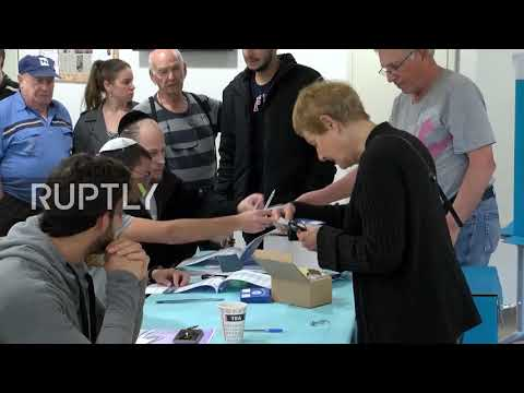 Israel: Voting gets underway in hotly-contested Knesset elections