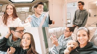 SHOWING MY HUSBAND MY NEW HAIR!! DAILY VLOG :)