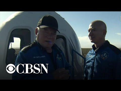 William Shatner gets emotional describing trip to space: \