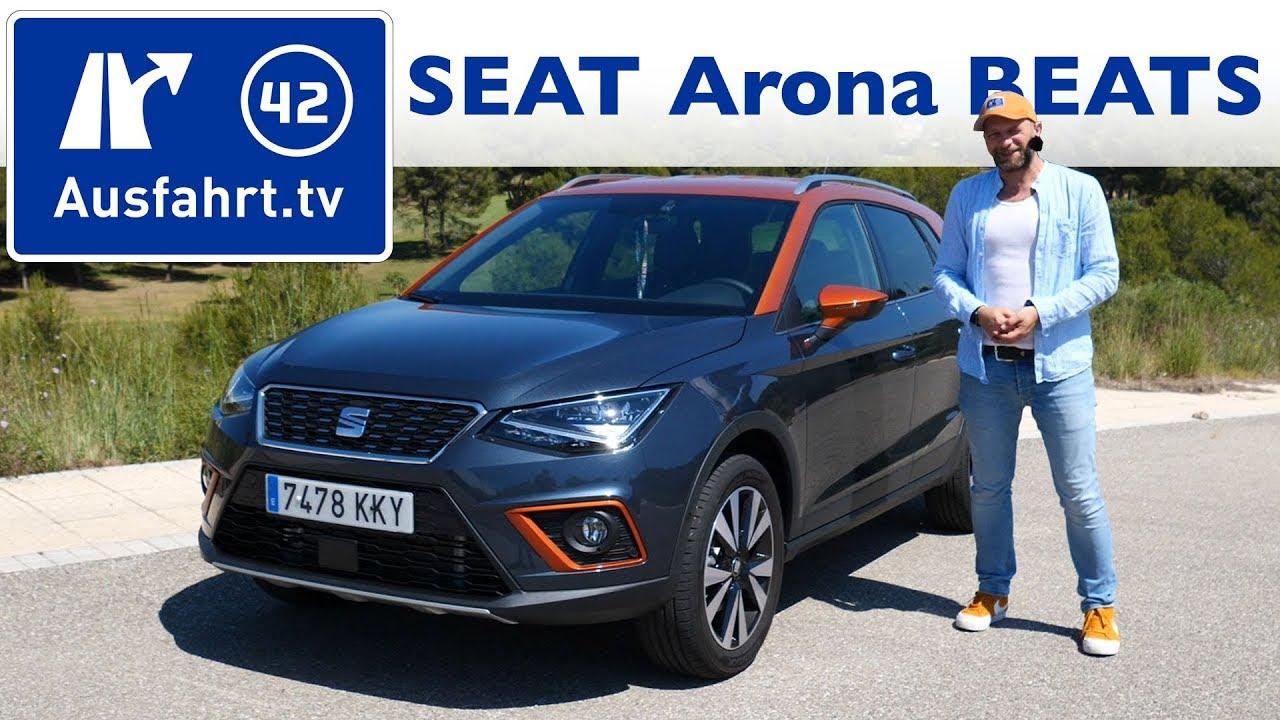 2018 seat arona beats sondermodell kurzvorstellung youtube