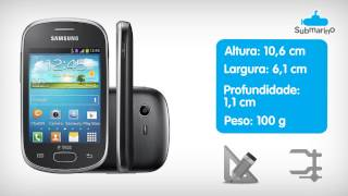 Smartphone Samsung Galaxy Star Trios | Submarino.com.br