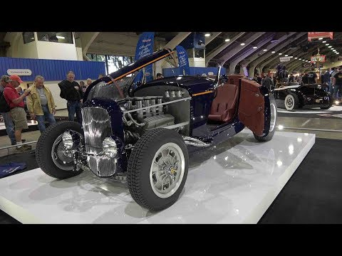 2018 Pomona Grand National Roadster Show - Outdoor Display and Slide Show