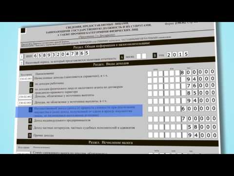Порядок представления налоговой отчетности в электронном виде.