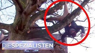 Liebeskummer extrem: Mann hängt im Baum statt auf Wolke 7 zu schweben! | Die Spezialisten | SAT.1 TV