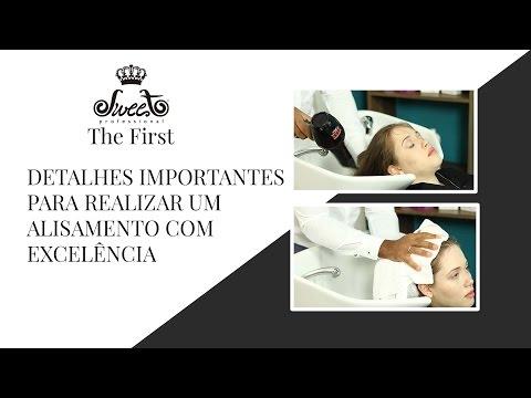 Shampoo que alisa The First Faça um alisamento com excelência Paulo & Adriana ...