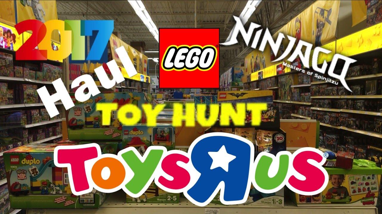 Lego 2017 Haul Toy Hunt At Toys R Us New Ninjago Hot Sets Lego