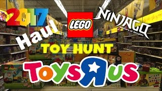 LEGO 2017 Haul & Toy Hunt at Toys R Us New NINJAGO HoT Sets & Lego Batman Movie Sets 2017!!