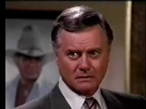 DALLAS - Season 10 (1986-87) Cliffhanger (JR Threatens Jeremy Wendell/Pamela Crashes Into A Tanker)