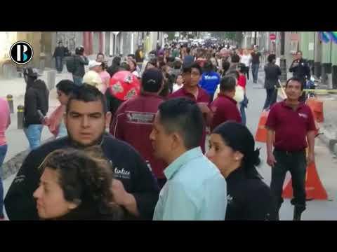 Fuerte terremoto causa pánico en México