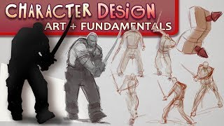 Character Design Mini-Series Pt. 1 - Gesture, Silhouette, Form