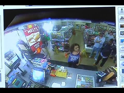 Video: Food fight inside California 7-Eleven store