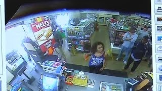 Video: Food fight inside California 7-Eleven store