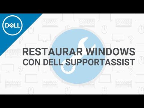 Cómo Restaurar Windows A Su Estado De Fábrica Con Dell SupportAssist