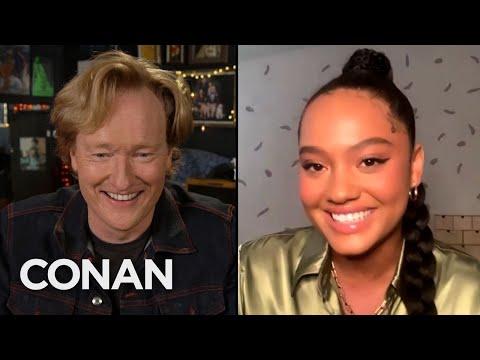Kiersey Clemons Thought Conan Was In Nigeria - CONAN on TBS