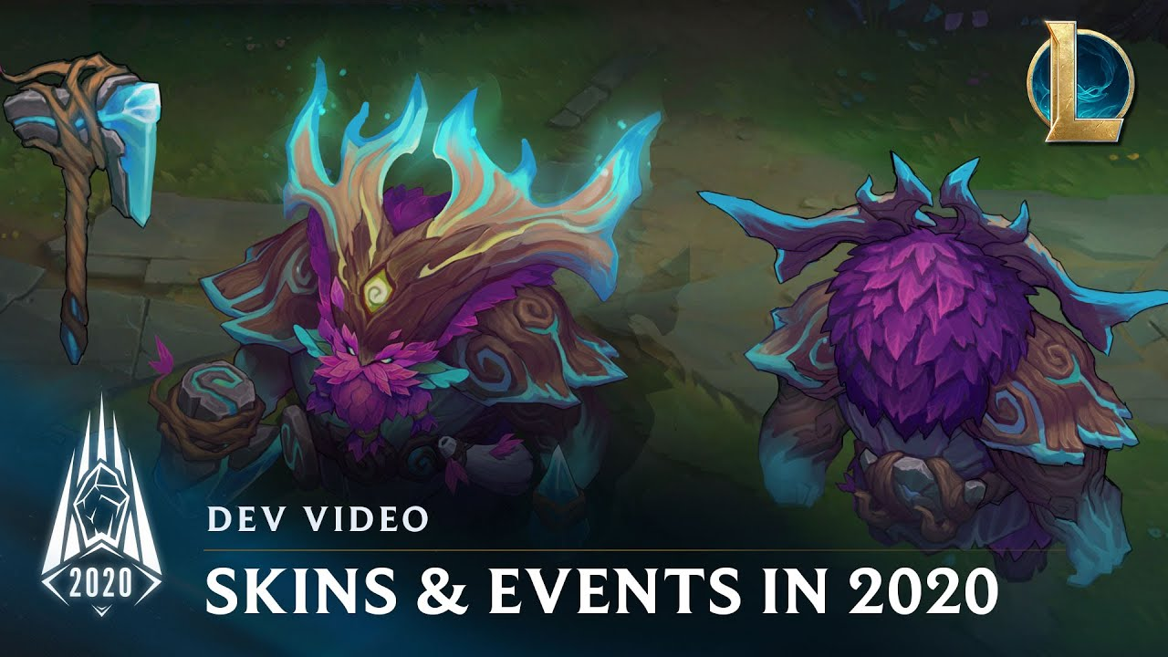 When Do Halloween League Of Legends Skins Come Out 2020 Skins & Events in Season 2020 | Dev Video   League of Legends