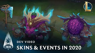Skins & Events in Season 2020 | Dev Video - League of Legends