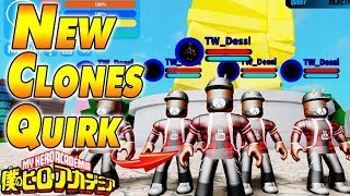 NOUVEAU CLONES QUIRK - France Boku No Roblox Remastered