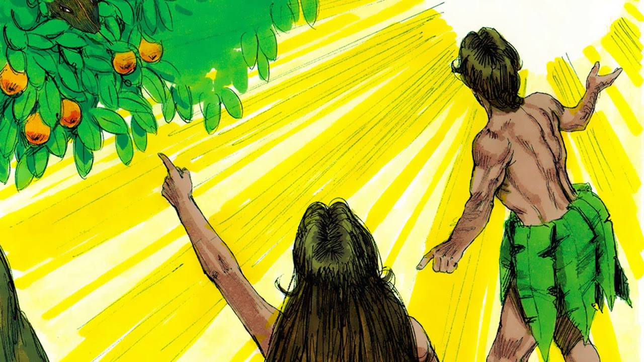 Shame and Fig Leaves (With images) | Adam and eve, God, Bible