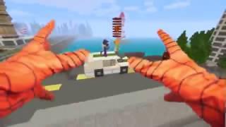 """Сериал """"В жизни Майнкрафт"""": ЧЕЛОВЕК ПАУК  СПАС ДЕВУШКУ ! НОВАЯ СУПЕРСИЛА ! В ЖИЗНИ Minecraft!!"""