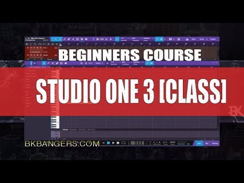 [MUSIC PRODUCERS] :Studio One 3 Beginners Class