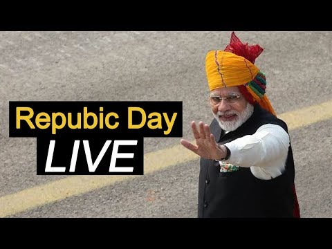 The 71st Republic Day Celebrations from Rajpath, New Delhi