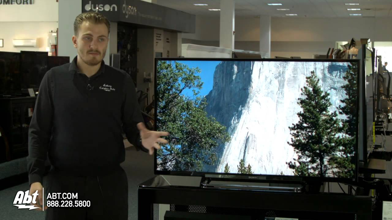 Sony 50-inch 1080P LED HDTV - KDL-50R450A at Abt Electronics