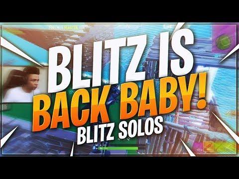 TSM Myth - BLITZ IS BACK BABY!! INTENSE 10 KILL SOLO  (Fortnite BR Full Match)
