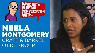 David Roth in Retail Conversation with Neela Montgomery, Chairwoman Crate & Barrel and Otto Group