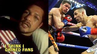 Diego Magdaleno message to fans after Teofimo Lopez loss