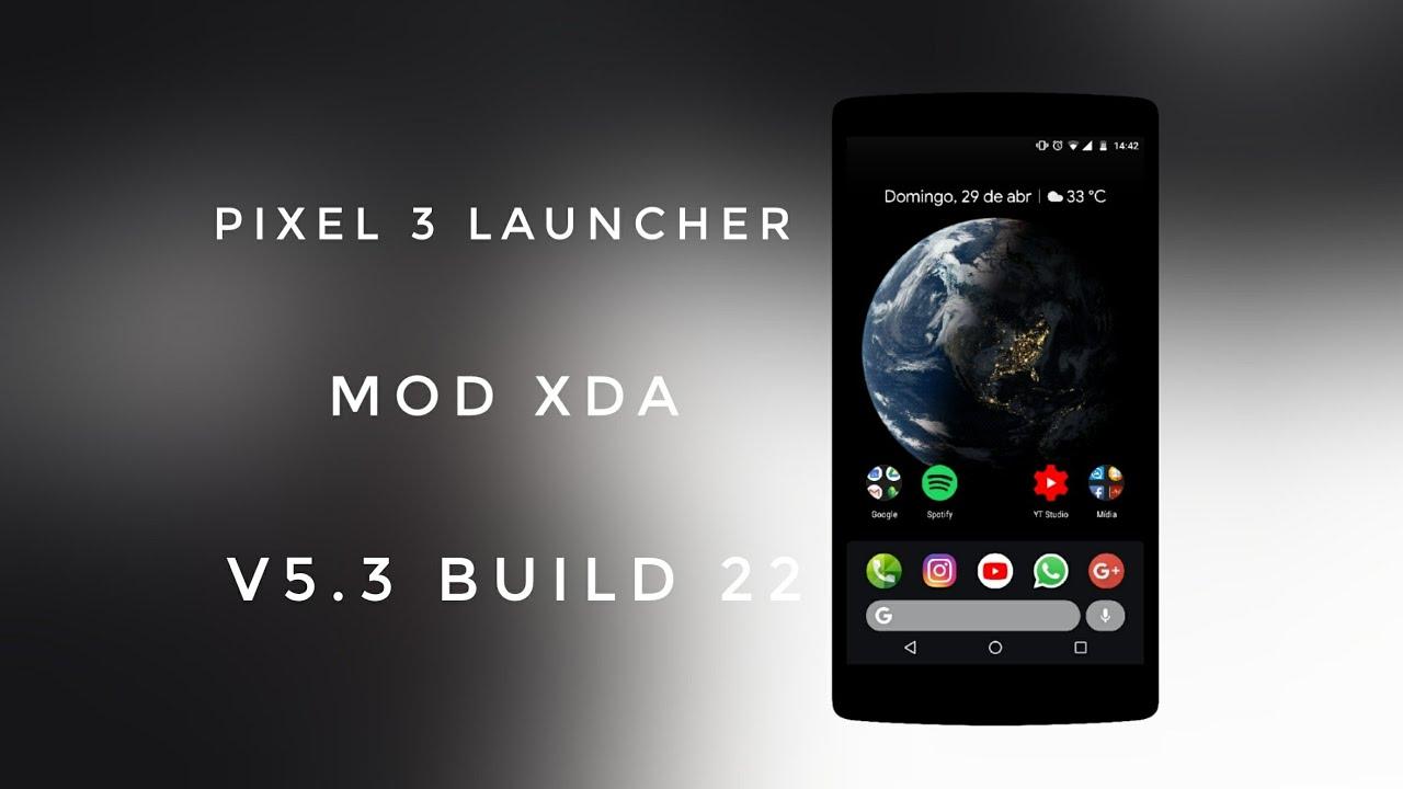 download pixel launcher xda