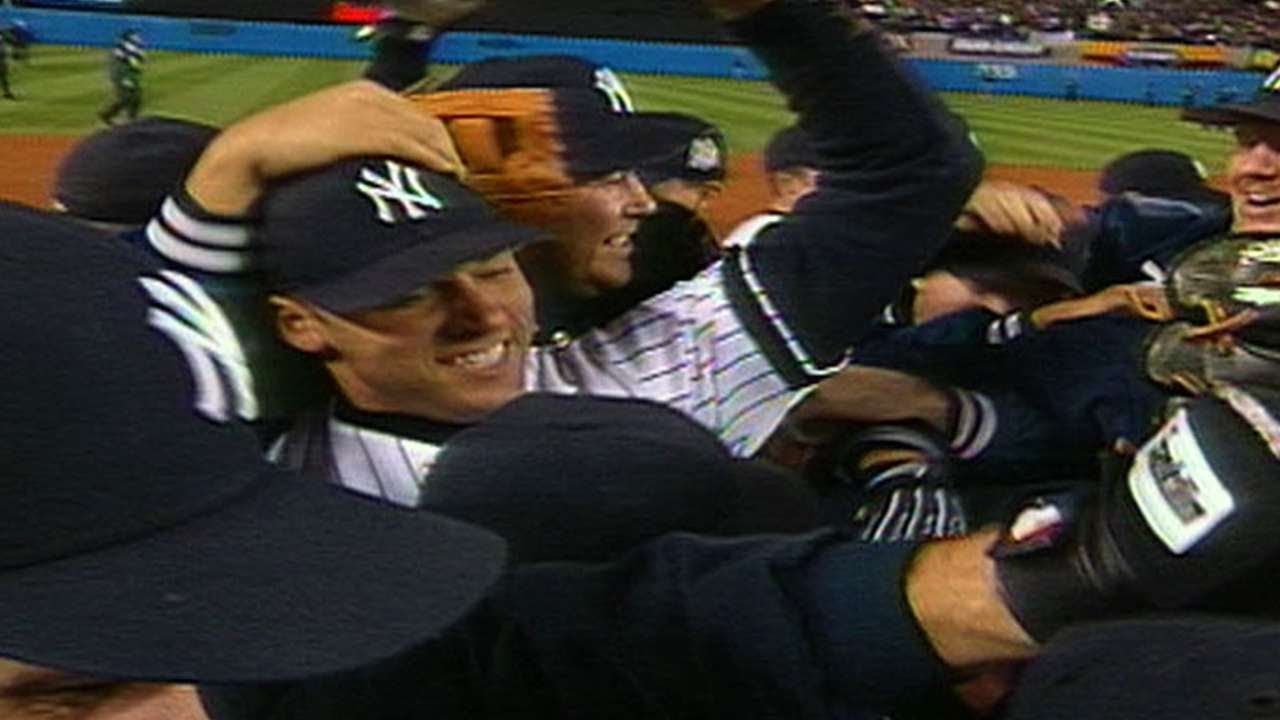 f5dca99546931 1999 WS Gm4  Yankees win 25th World Championship - YouTube