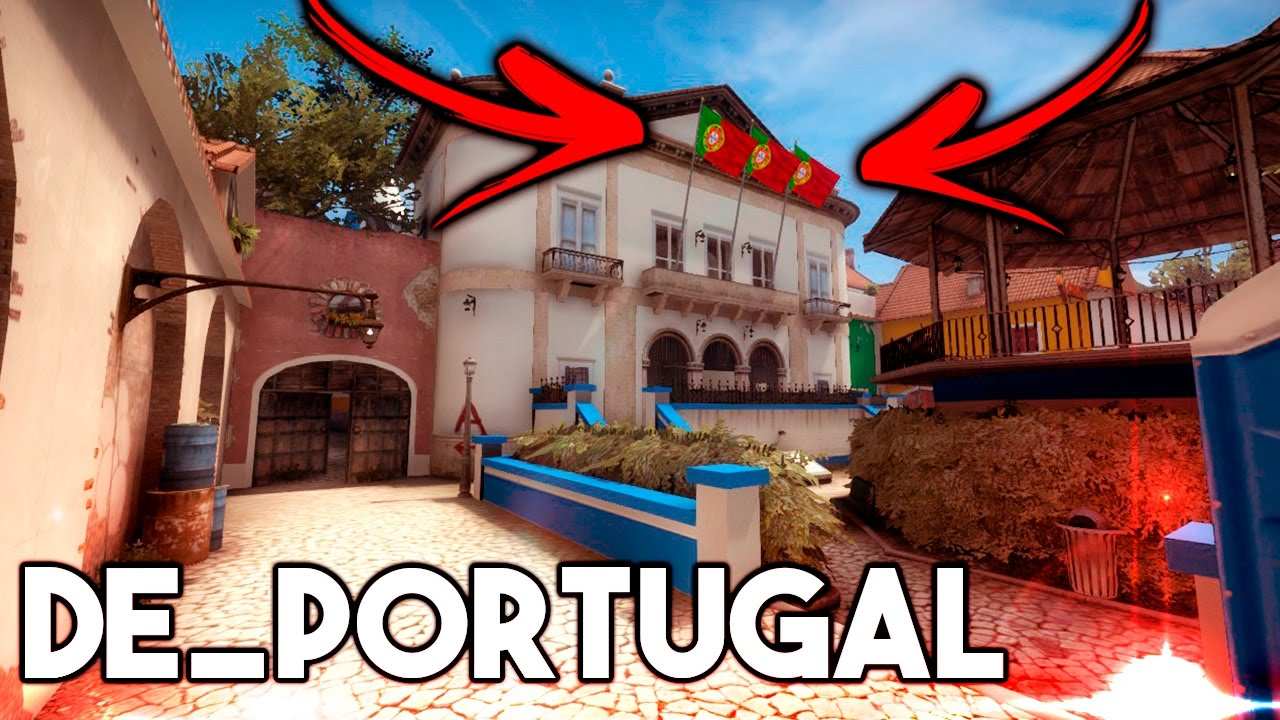 De Portugal Novo Mapa Cs Go Totalmente Pt Youtube