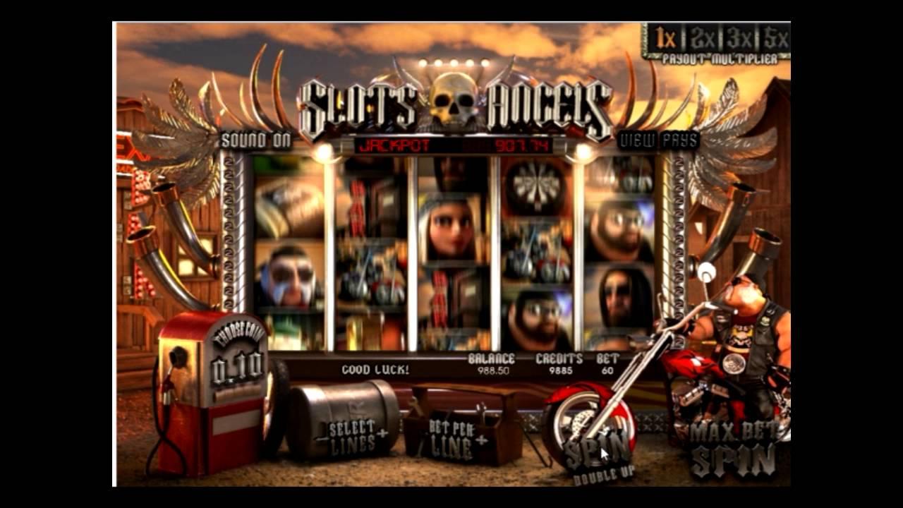 slots angels описание игрового автомата