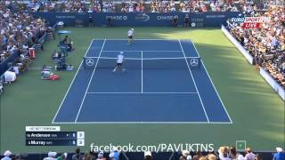 Andy Murray vs Kevin Anderson Highlights ᴴᴰ US OPEN 2015