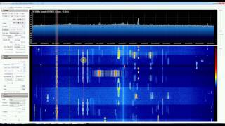 Some radio traffic at 433-446Mhz captured on e4000+rtl2832 tv-tuner in Moscow