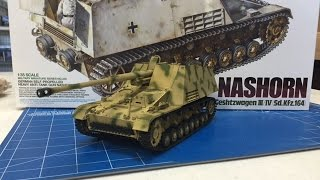 Building the Tamiya 135 German Nashorn