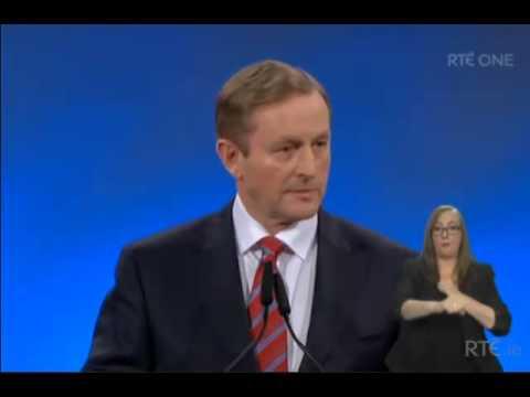 Enda Kenny Speech Fine Gael Ard Fheis 2015