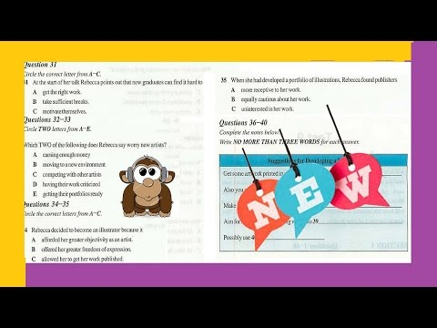 Ielts Listening Test From Real Exam 55 With Key 2016